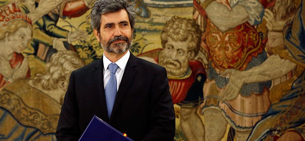 El presidente del TS y del CGPJ, Carlos Lesmes. Reuters