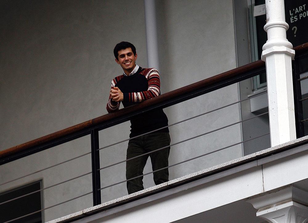 Nil Sifre Tomás, de 21 años y en 4º de Derecho.