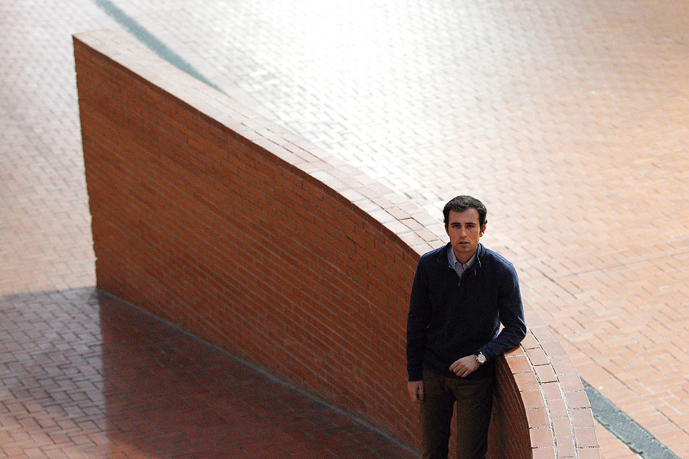 Marc Navés, 4º de Derecho.