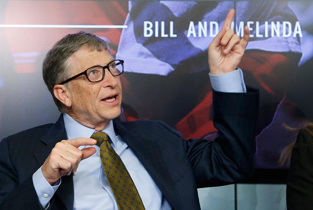 La percepción de Bill Gates: Capacidad de gestión y conciencia social. Foto: Reuters