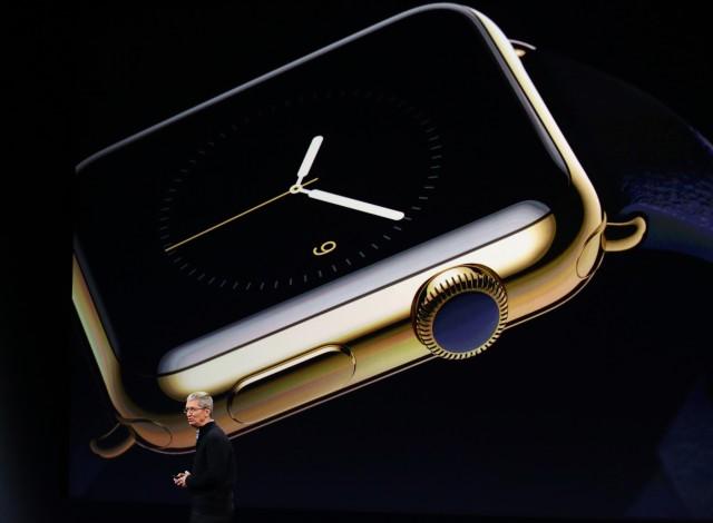 Apple Watch de oro