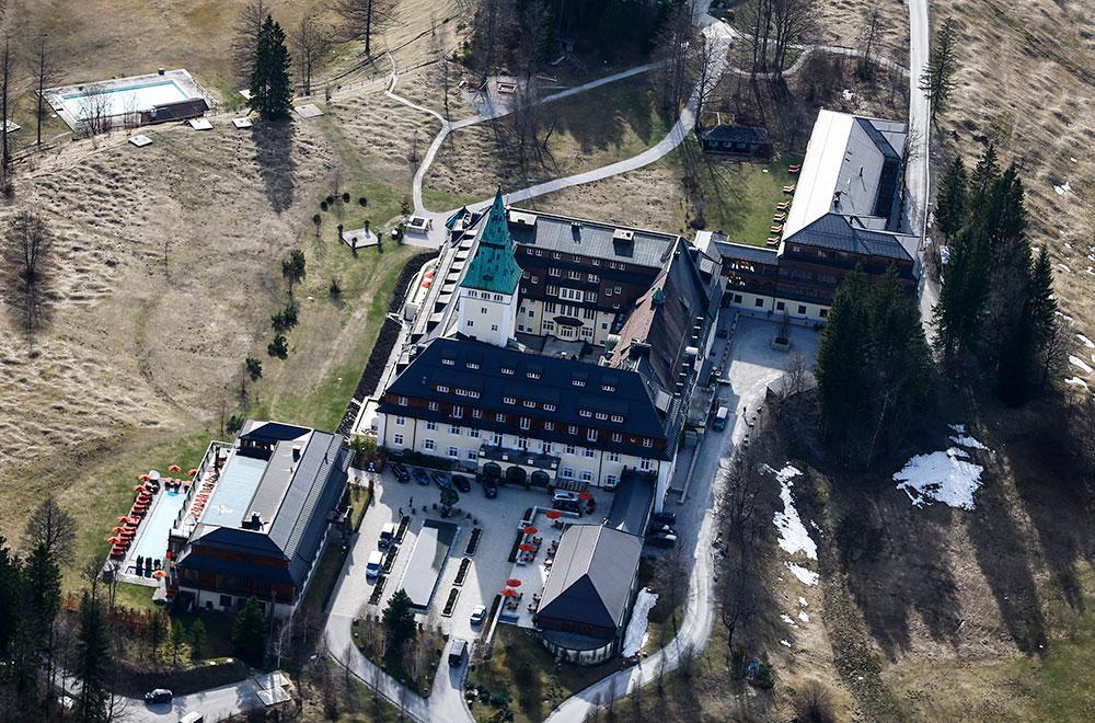 El castillo bávaro de Elmau. Foto: REUTERS