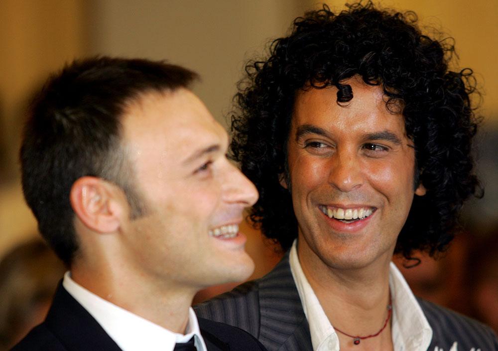 Zerolo y su marido, Jesús Santos. Foto: REUTERS