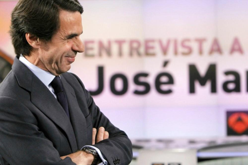 Entrevista a José María Aznar en Antena 3