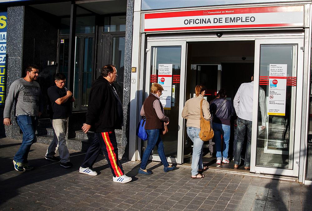 La tasa de paro de los desempleados de larga duración se reduce.
