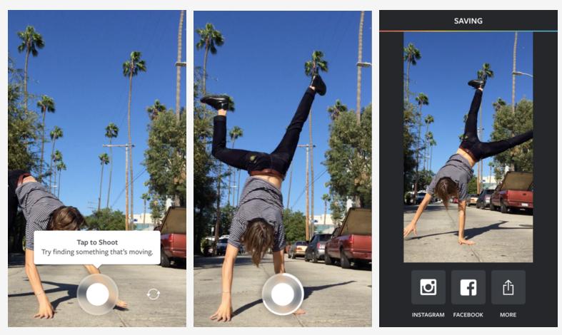 Boomerang, la nueva app de Instagram