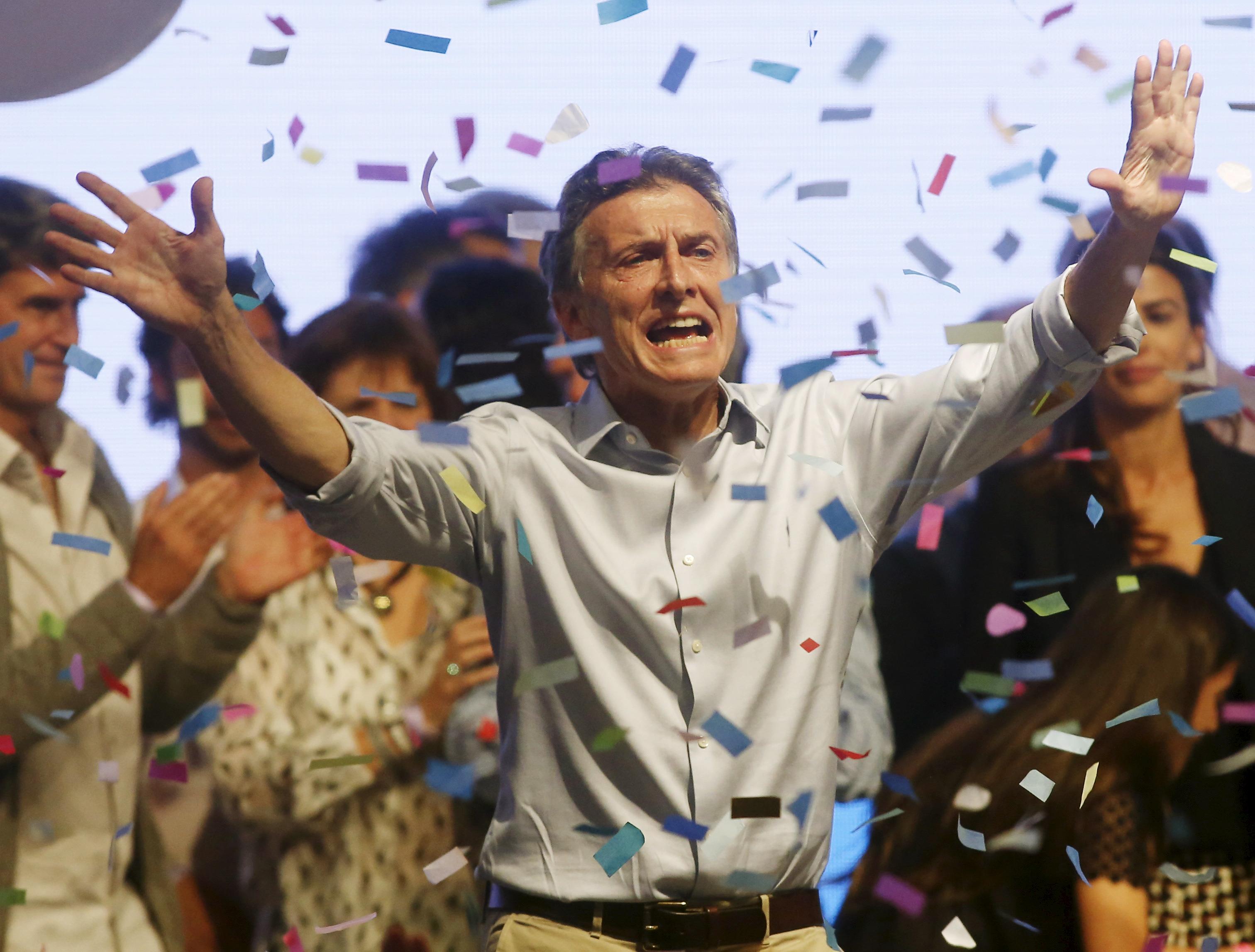 Elecciones Argentina. El conservador Mauricio Macri. Foto: Reuters