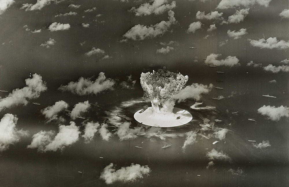 Pruebas nucleares rn las Islas Marshall. Foto: Reuters