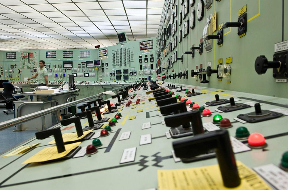 Central nuclear y de extracción de uranio