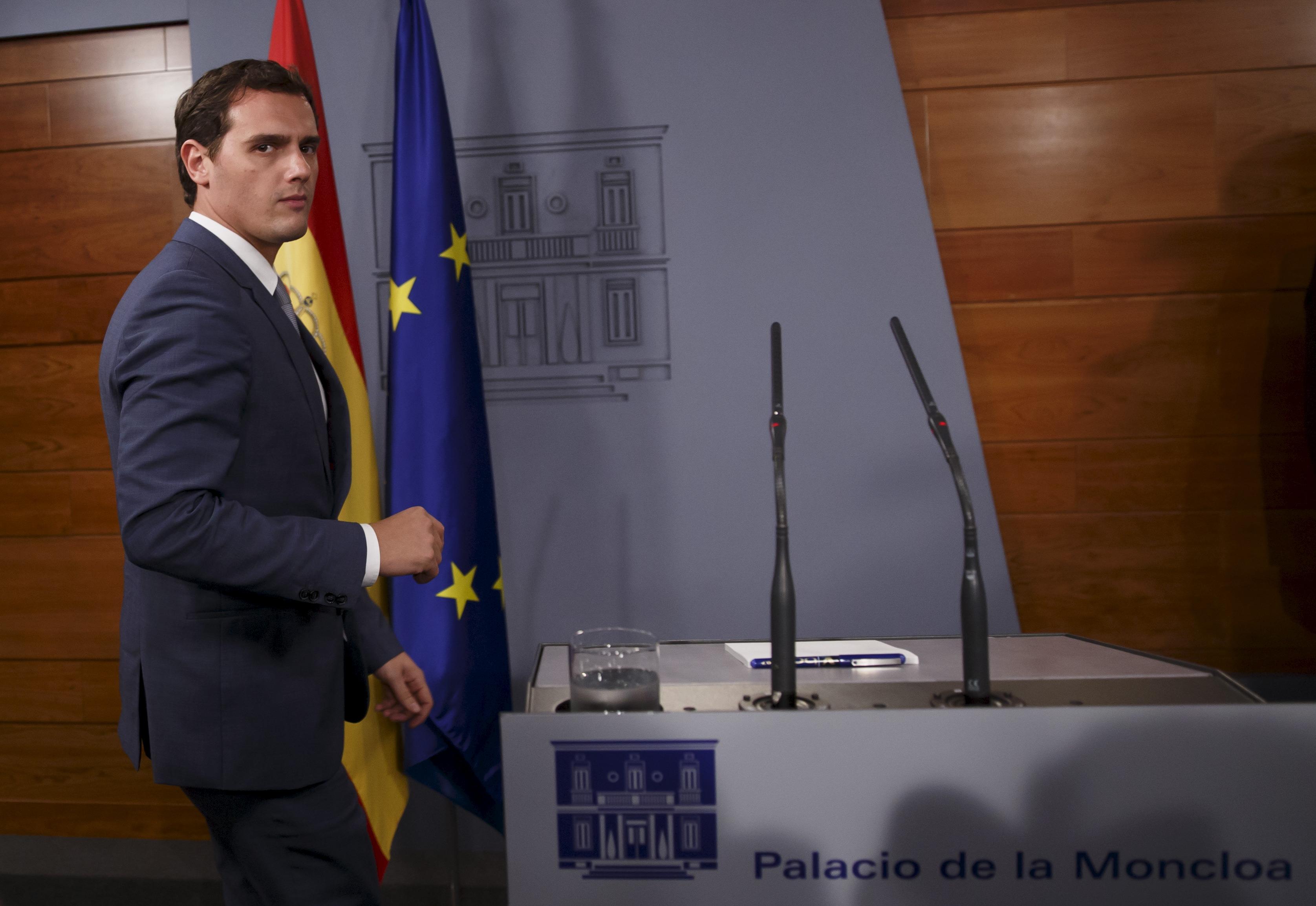 Albert Rivera, líder de Ciudadanos. Foto: Reuters