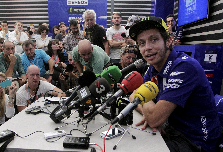 Valentino Rossi. Foto: Reuters