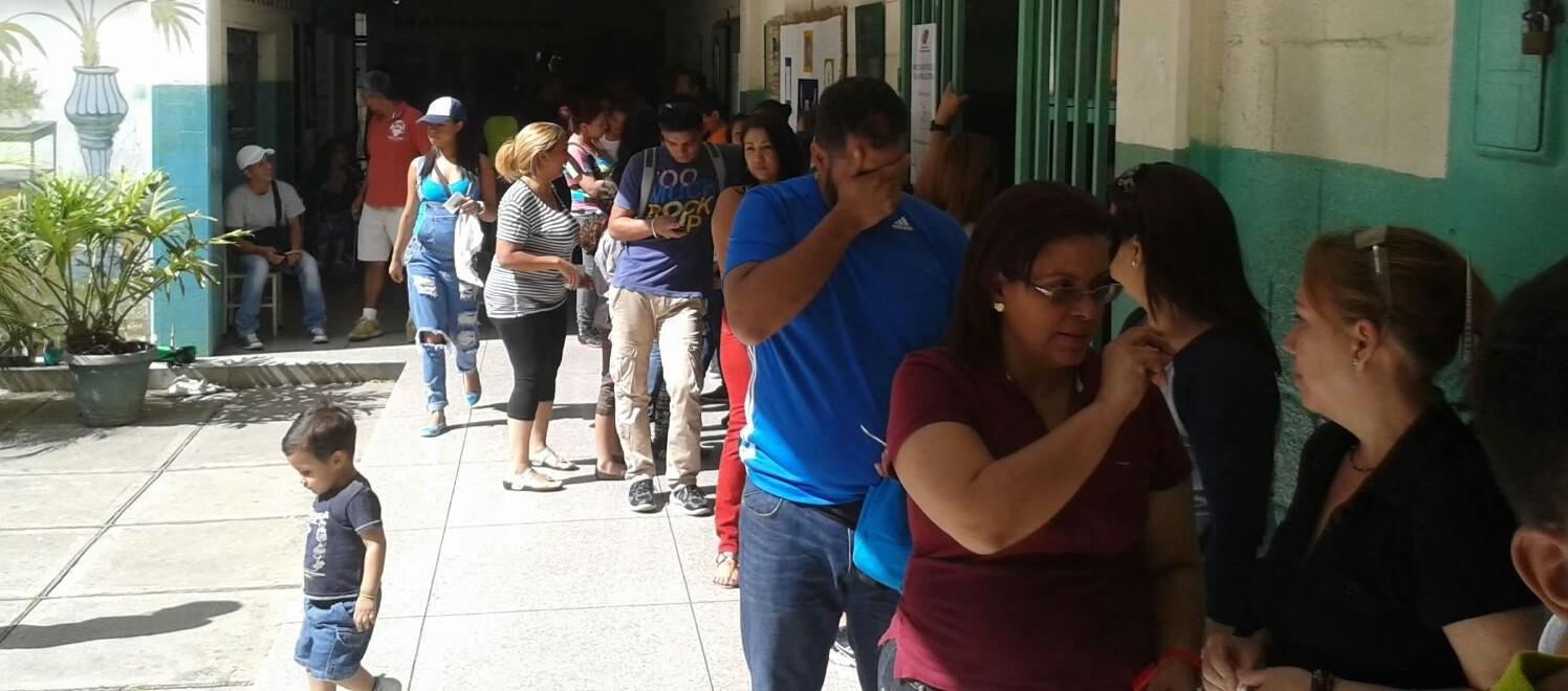 jornada electoral en Venezuela