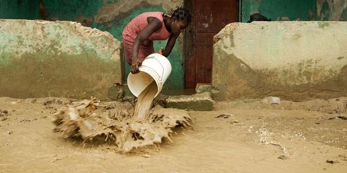 Una mujer en Haití. ONU Mujeres