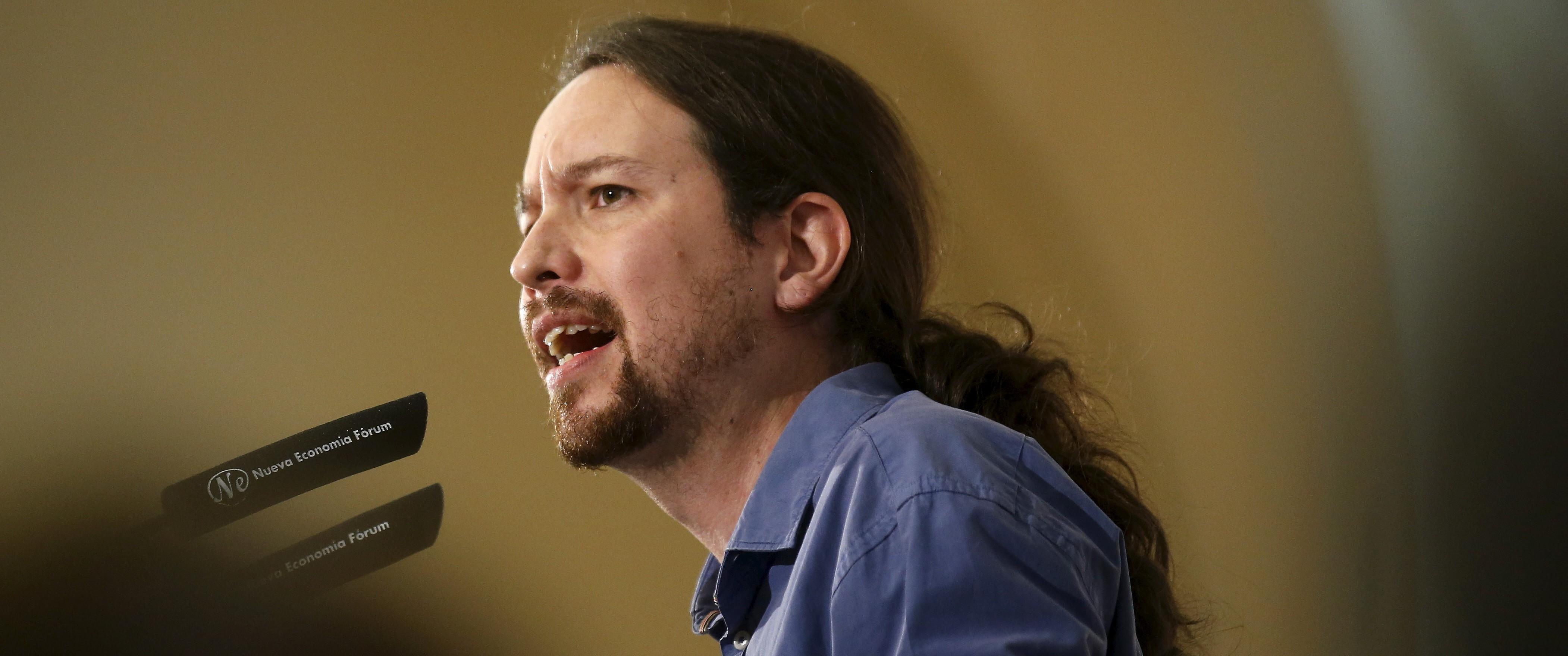 Pablo Iglesias, lider de Podemos. Reuters