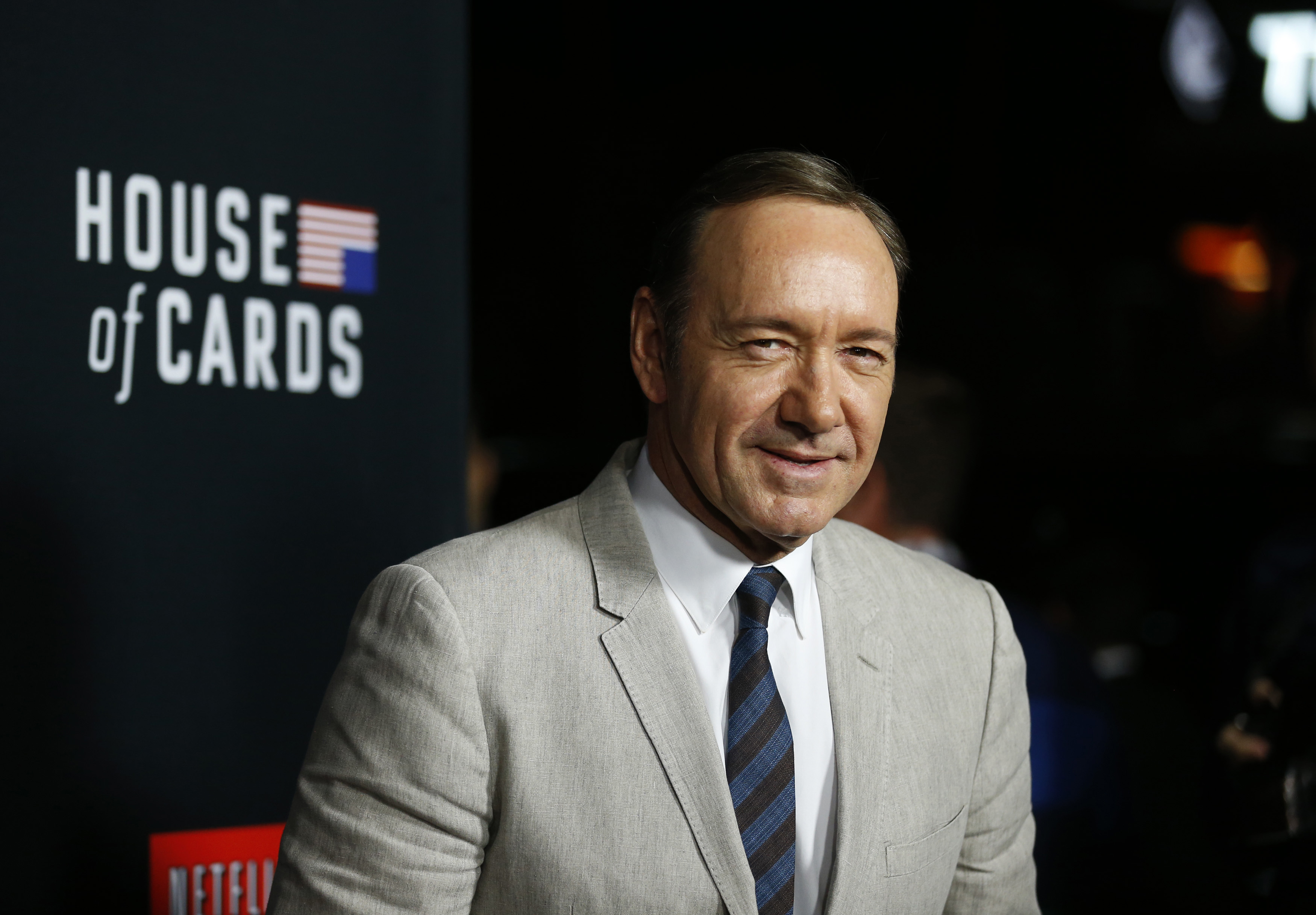 Kevin Spacey, actor que encarna a Frank Underwood en House of Cards.