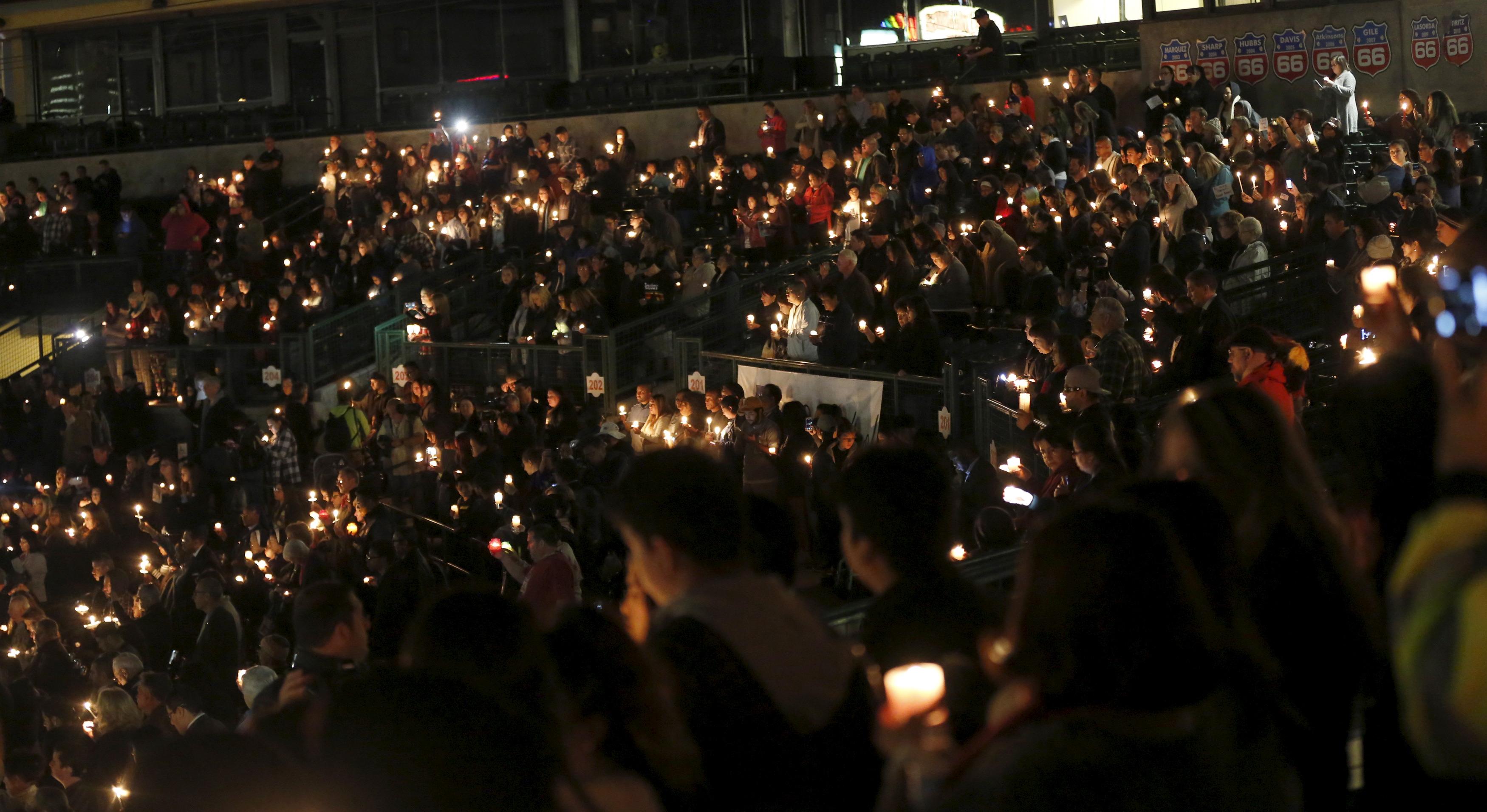 Vigilia en San Bernardino (California). Reuters