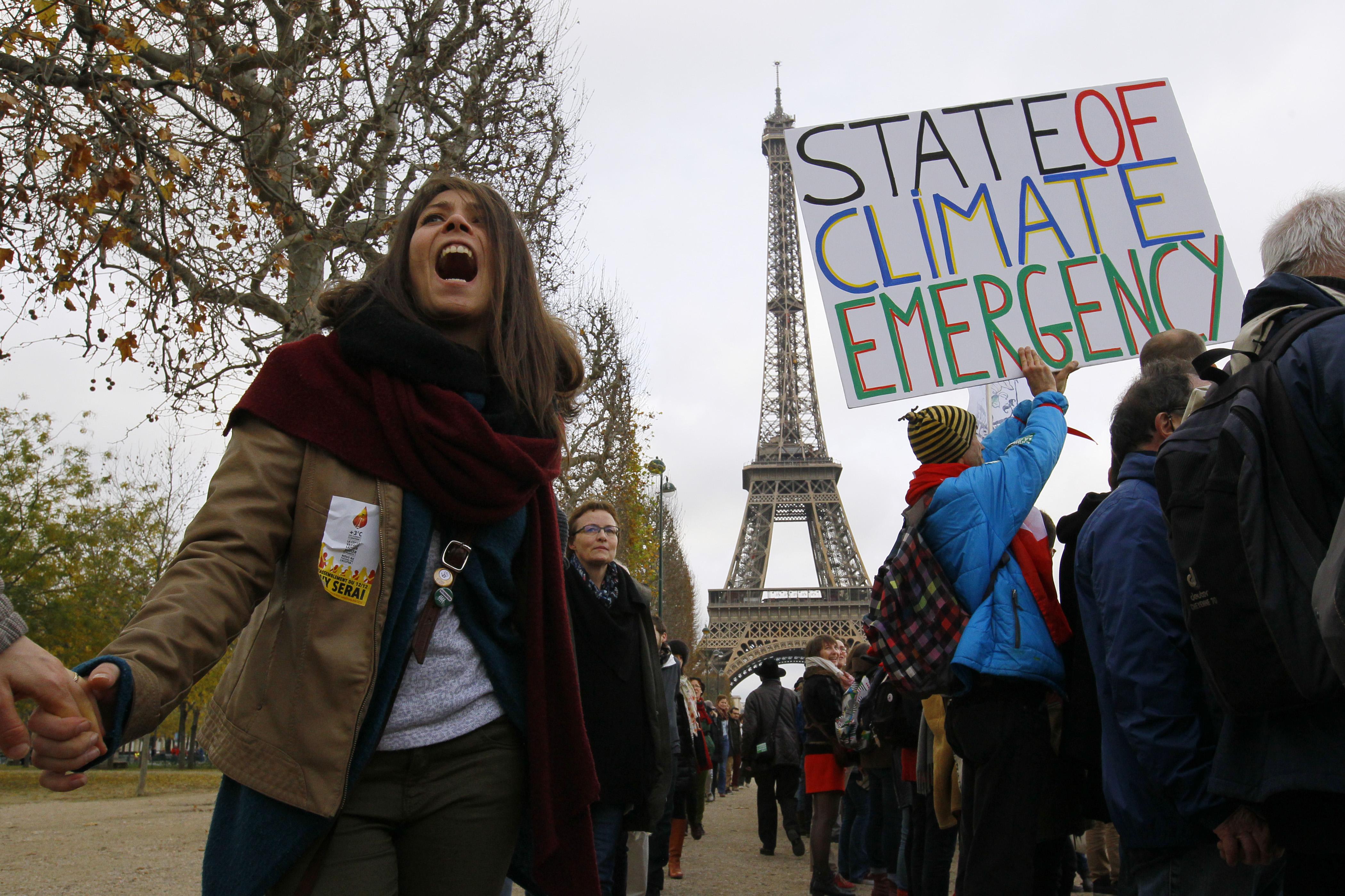 Cumbre del Clima de París.   Reuters