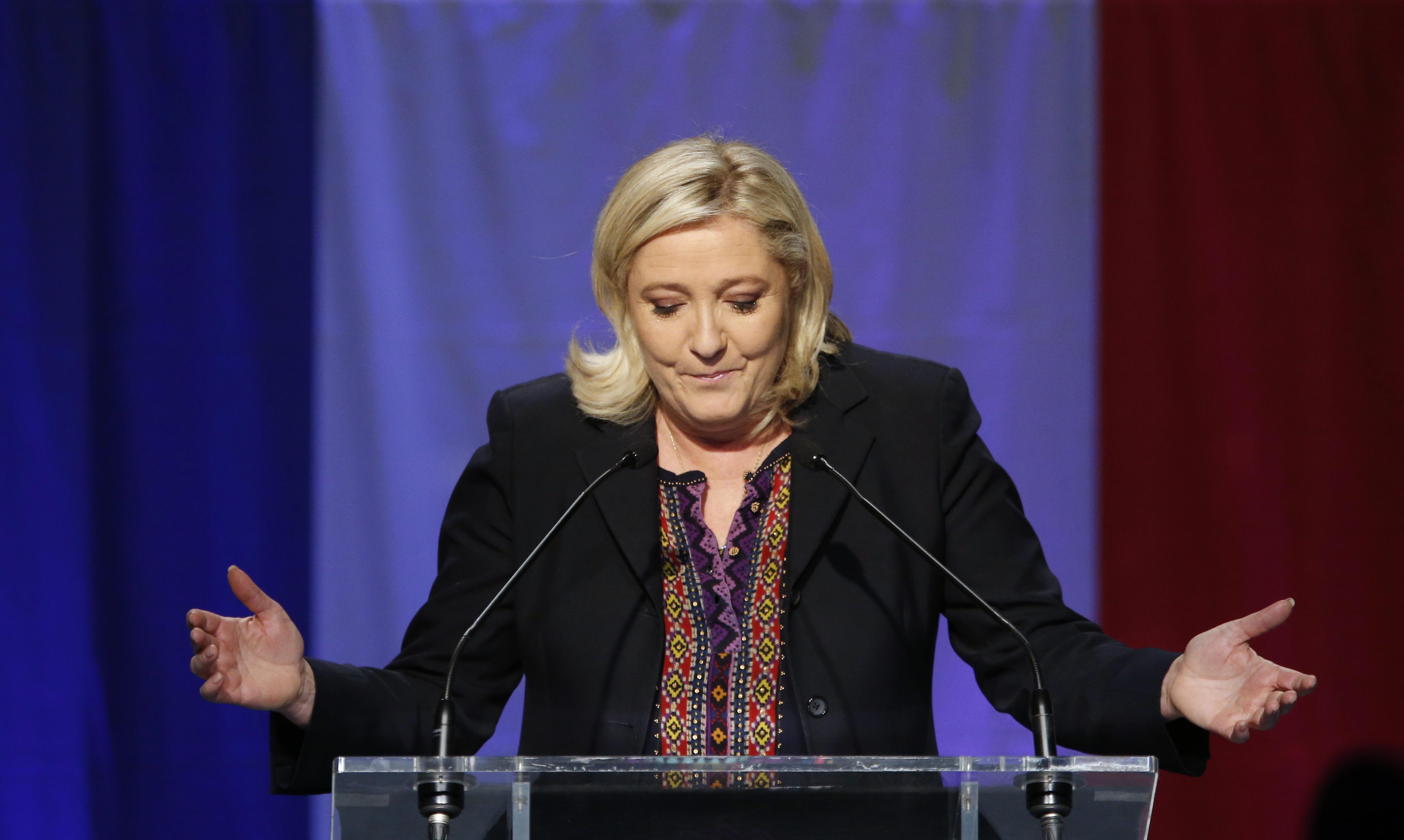 Marine Le Pen. | Reuters