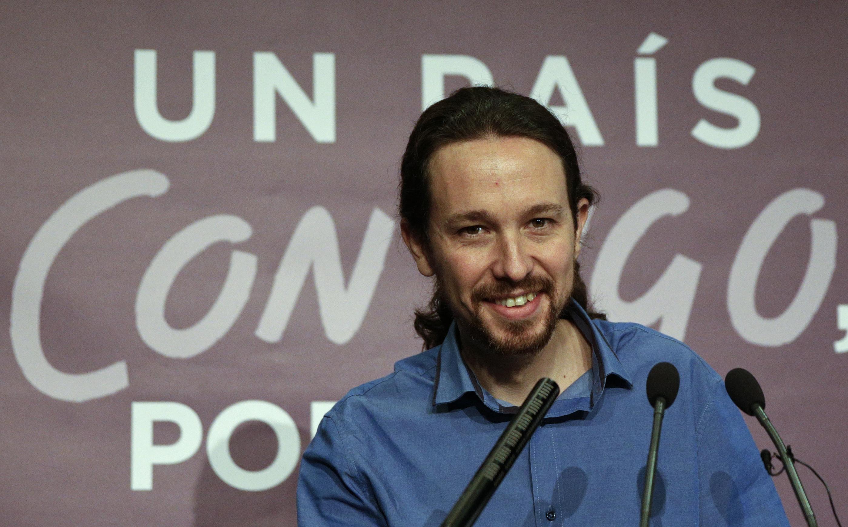 Pablo Iglesias. Reuters