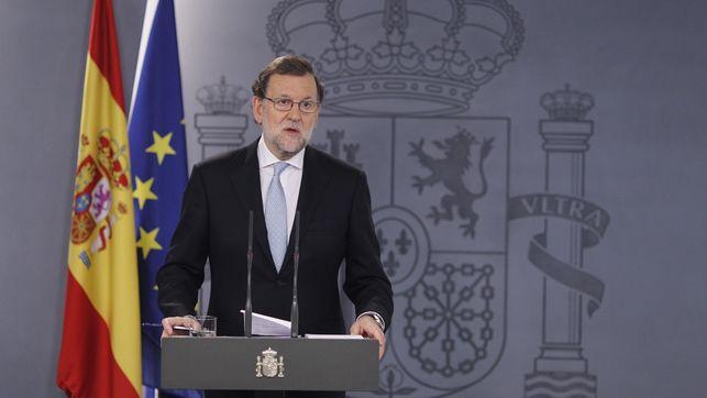 Rajoy, ante la Diada.