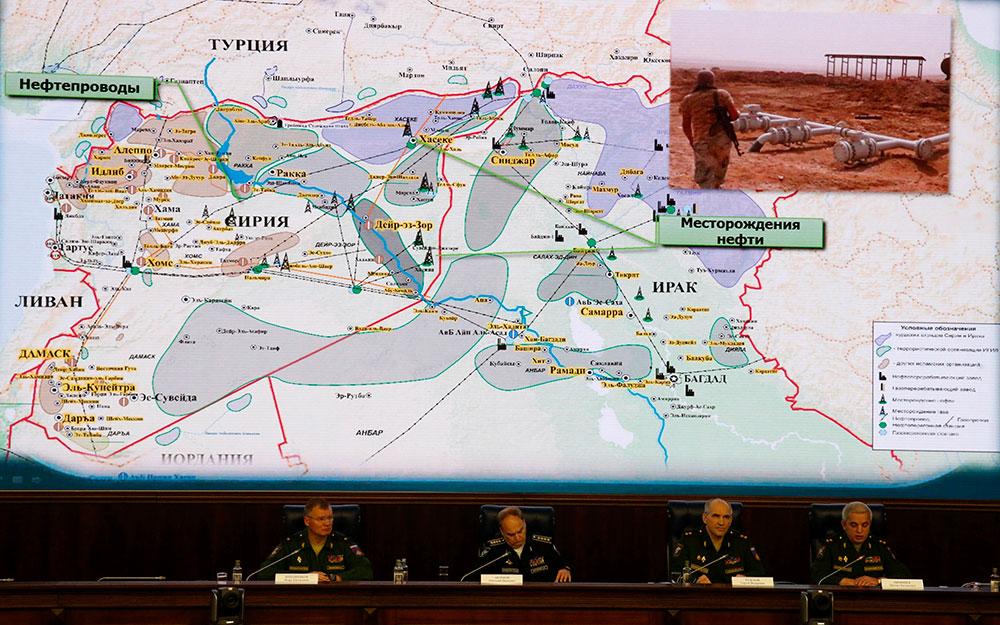 Rusia muestra fotos para probar que Erdogan compra petróleo al Estado Islámico