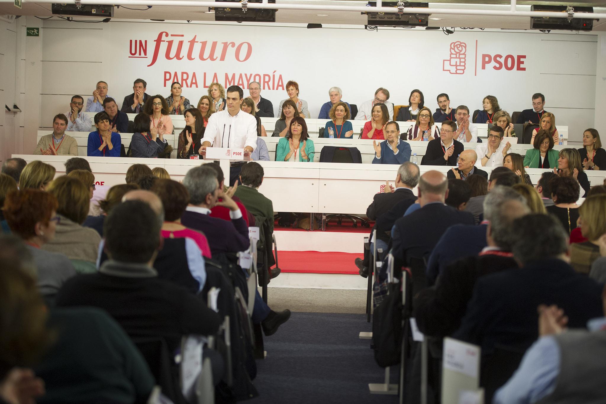 Pedro Sánchez Comité Federal PSOE