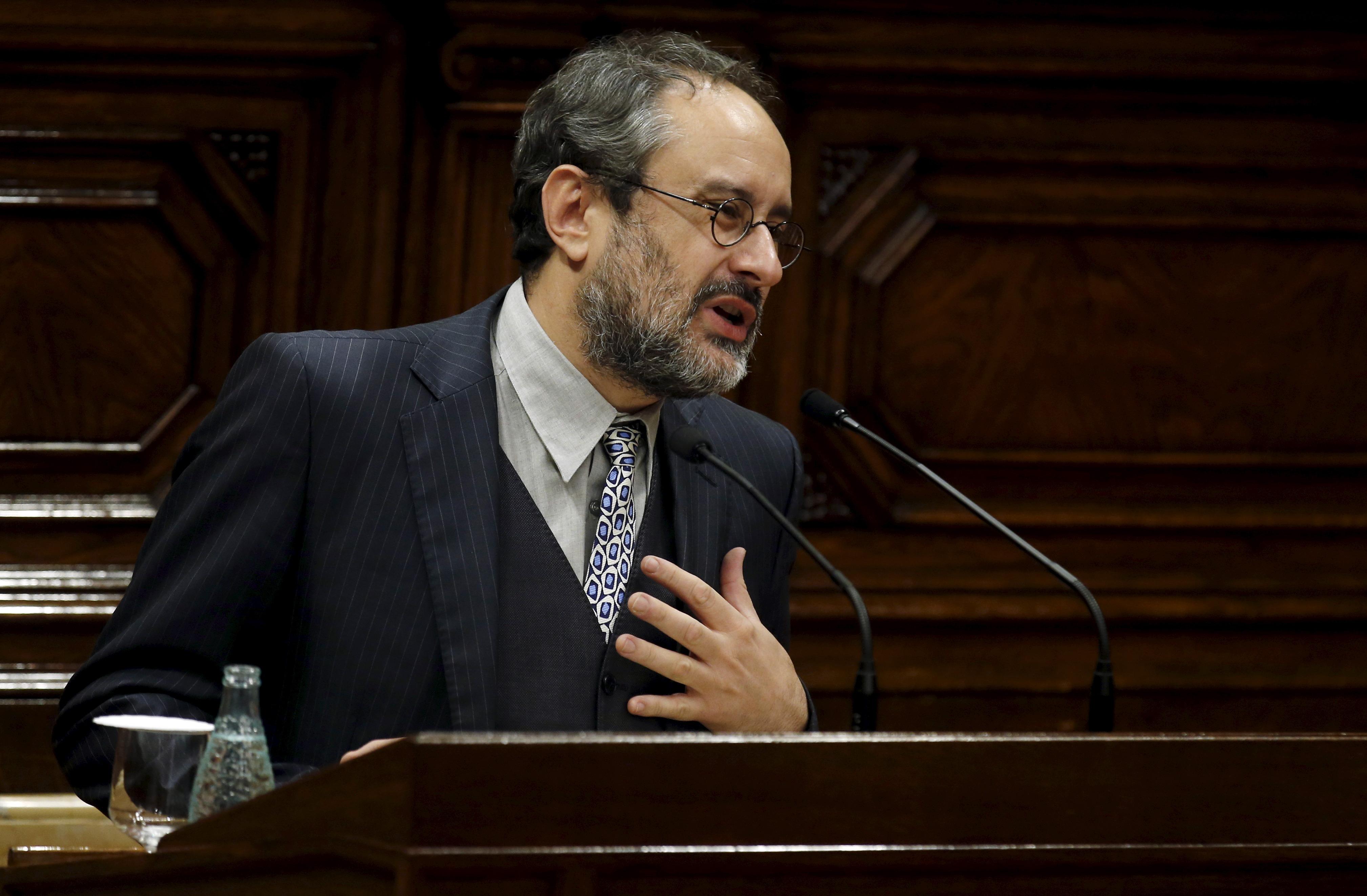 Antonio Baños. Reuters
