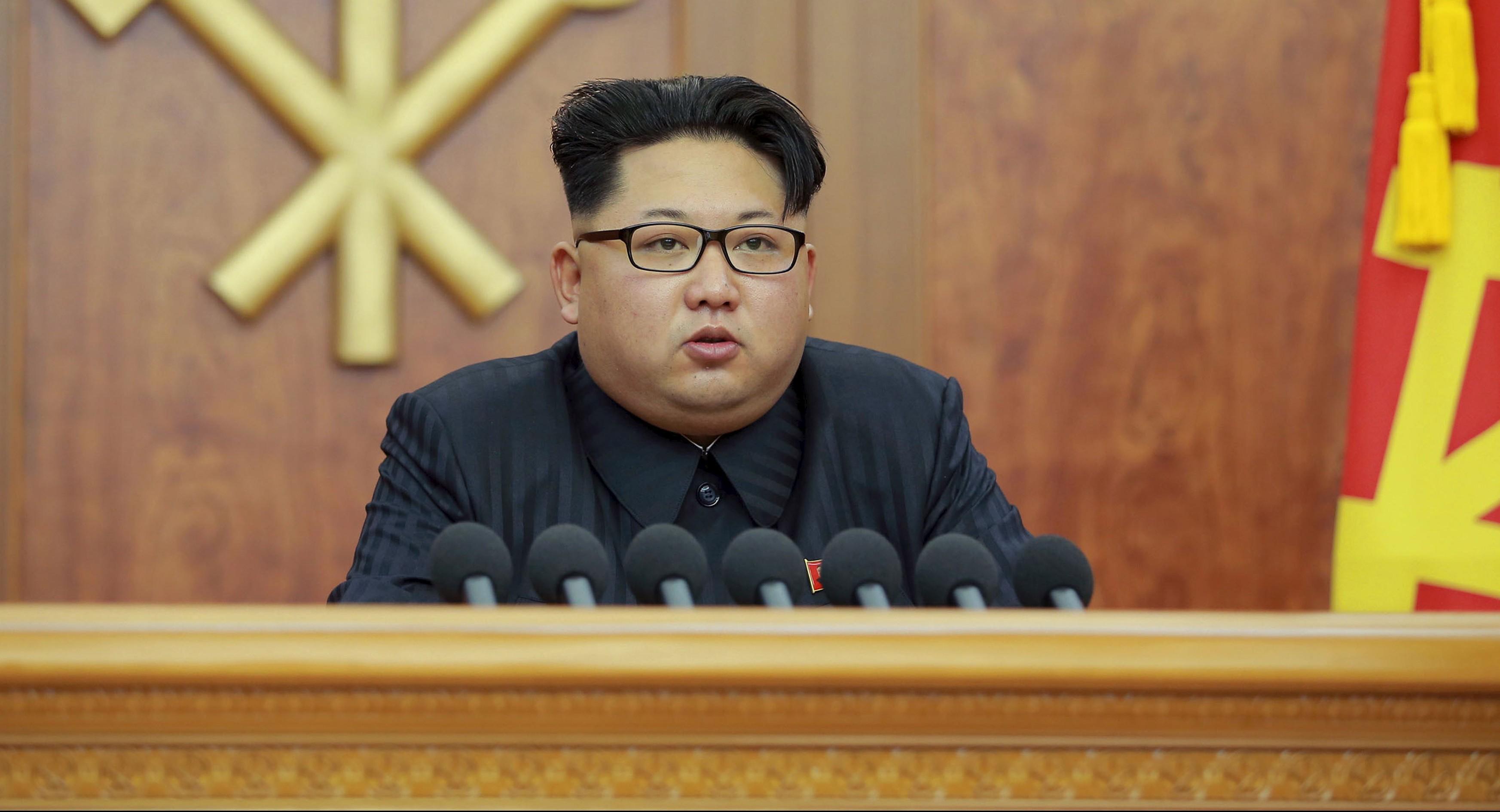 Kim Jong-un. Reuters