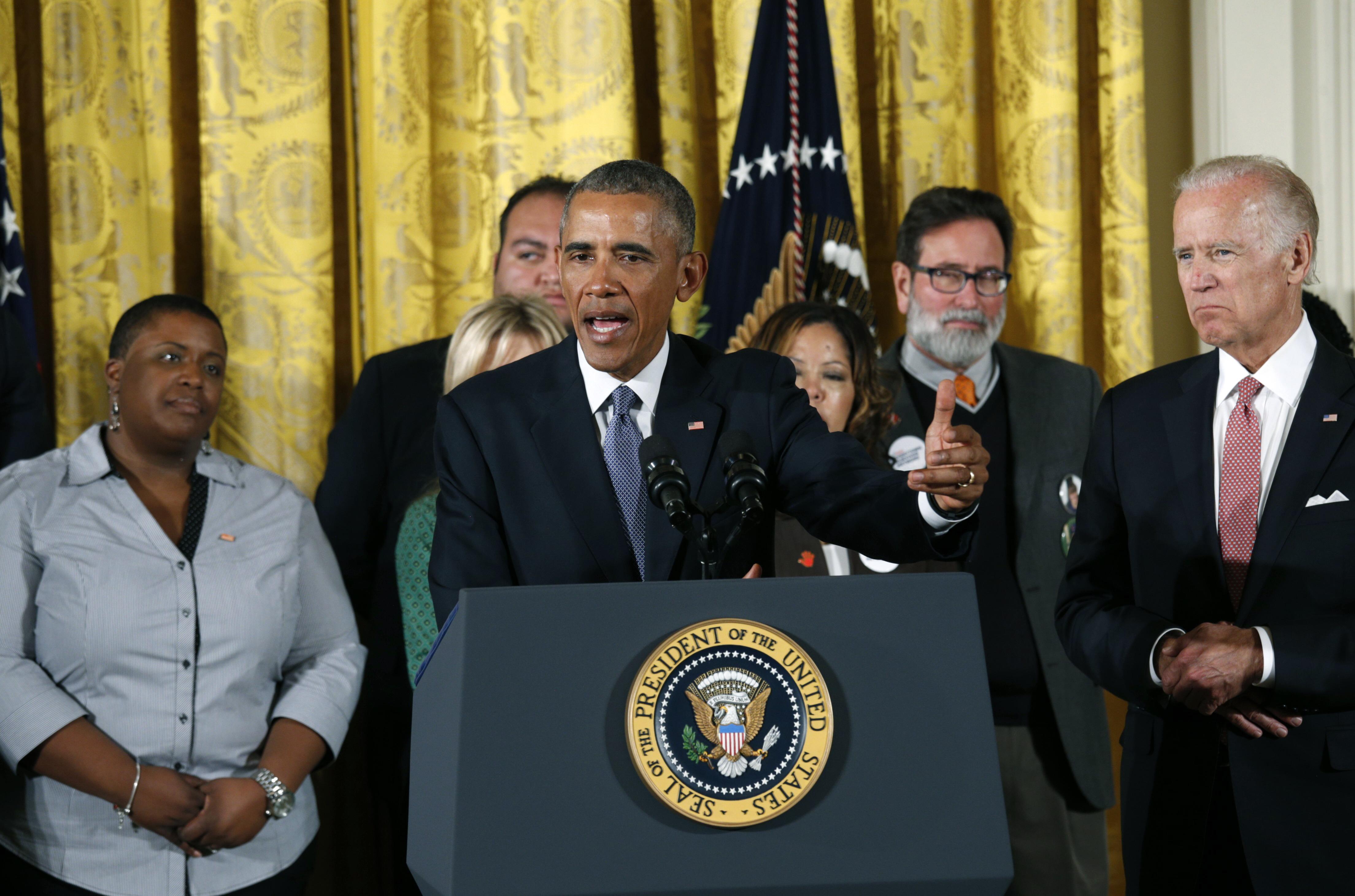 Barack Obama. Reuters