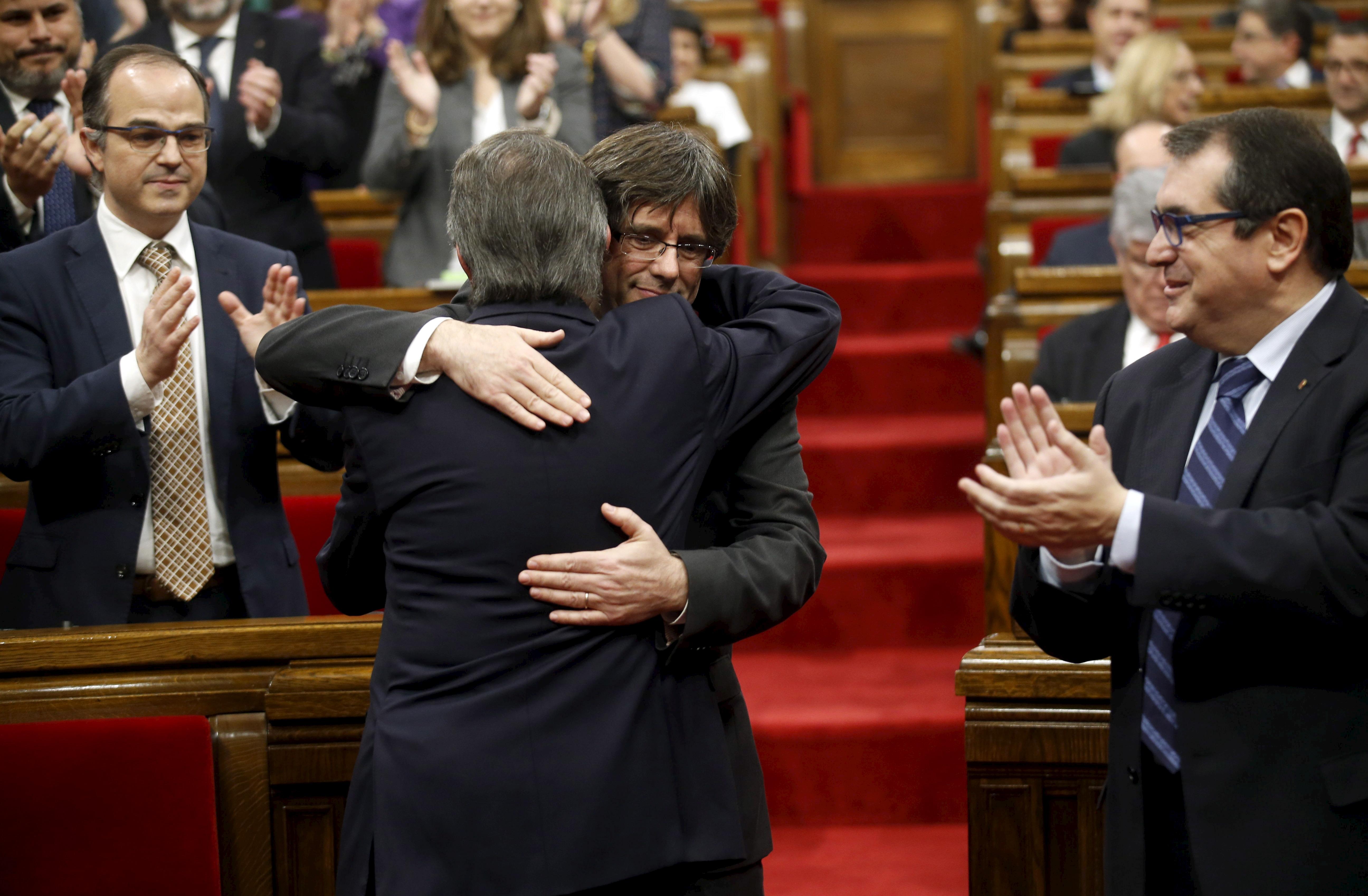 Artur Mas y Carles Puigdemont FOTO: Reuters