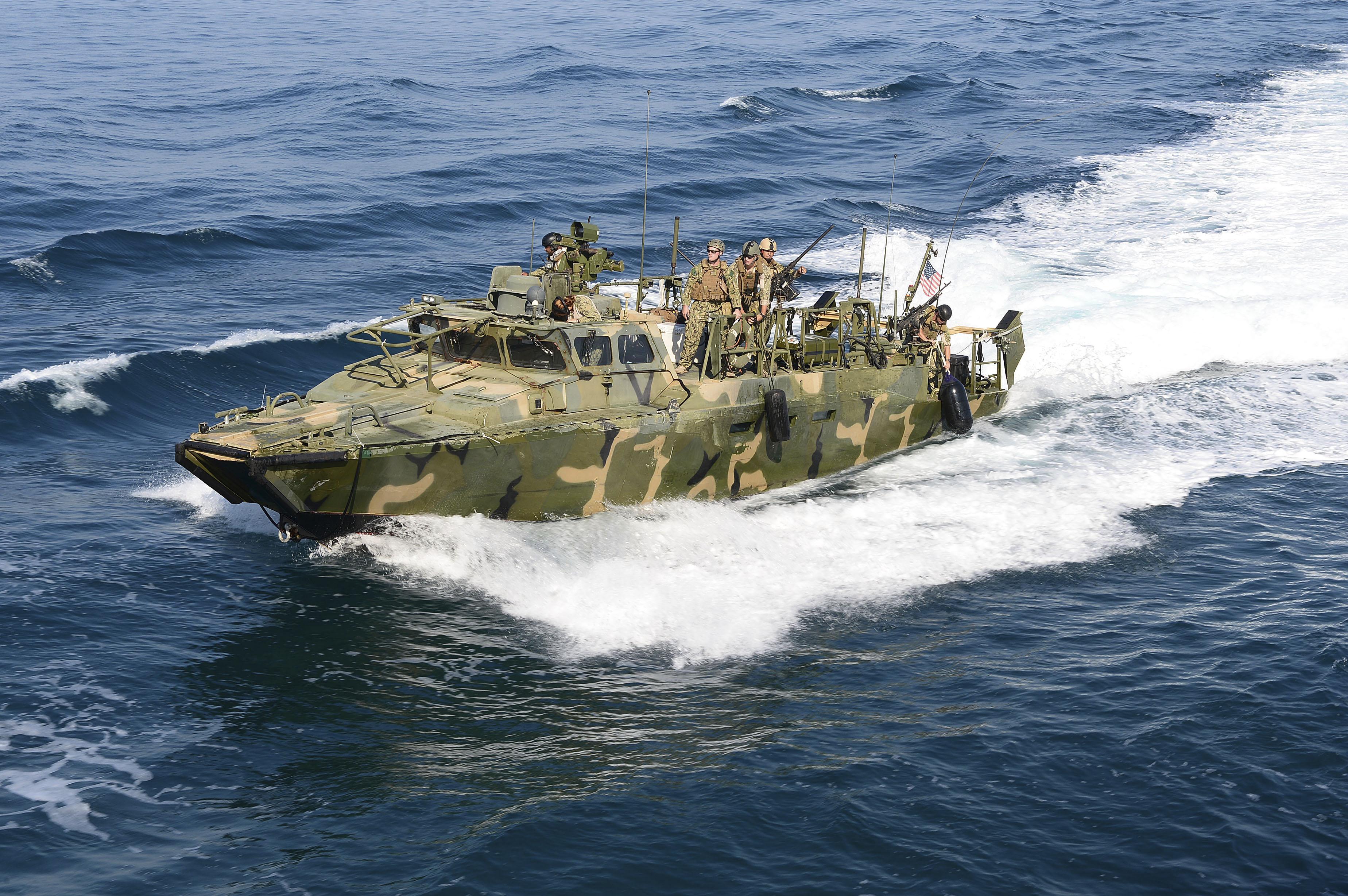 Un navío de los EEUU. Reuters
