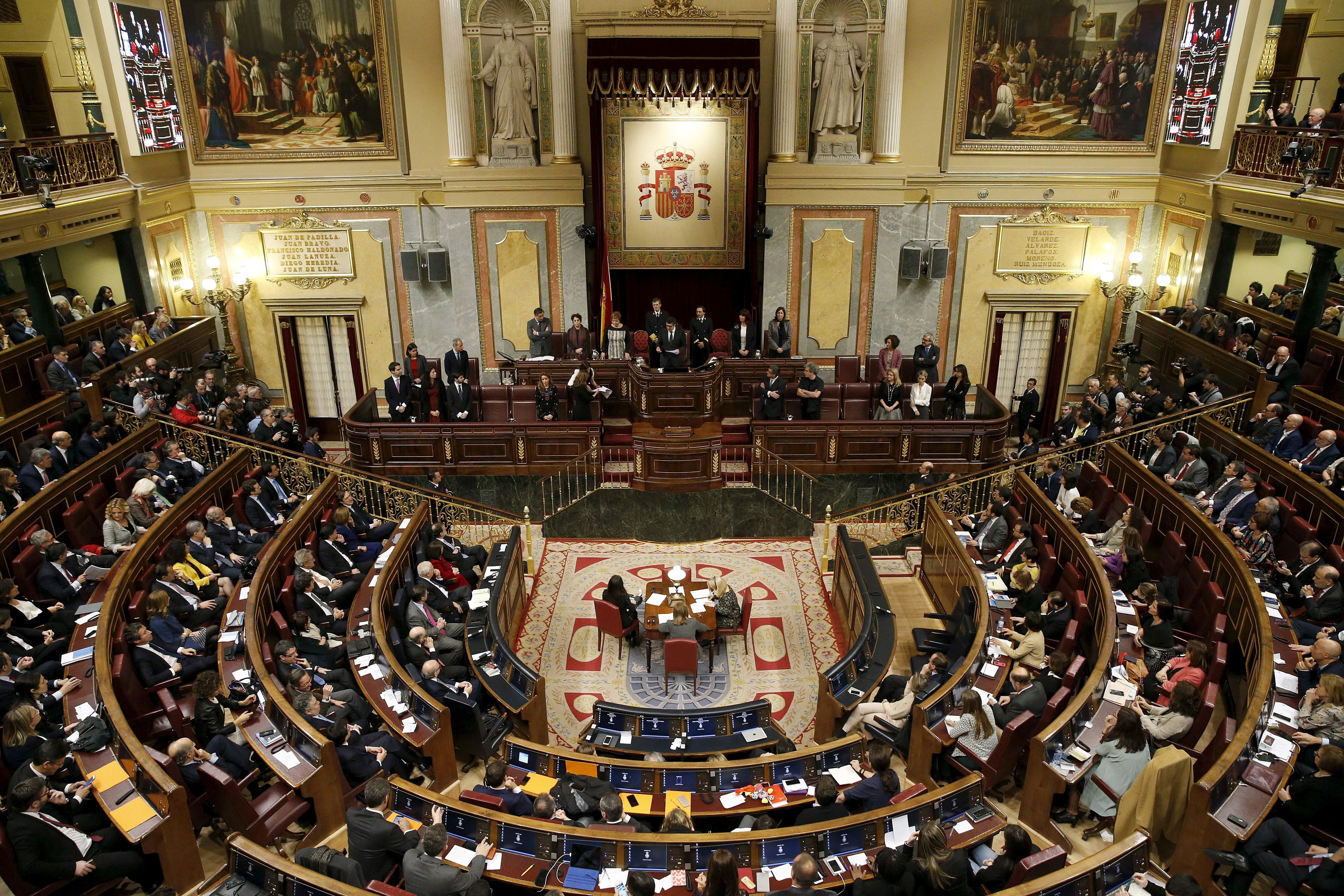 El nuevo Congreso de los Diputados. FOTO: Reuters