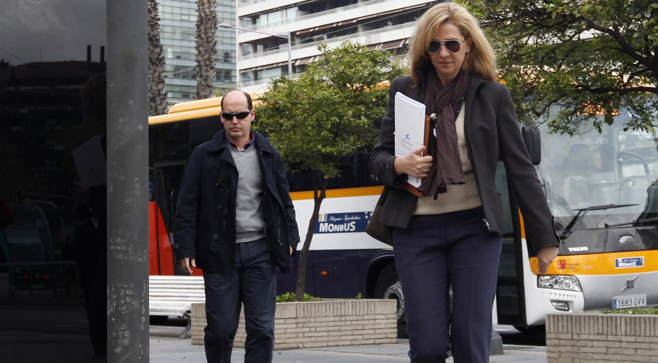 La Infanta Cristina de Borbón. FOTO: Reuters