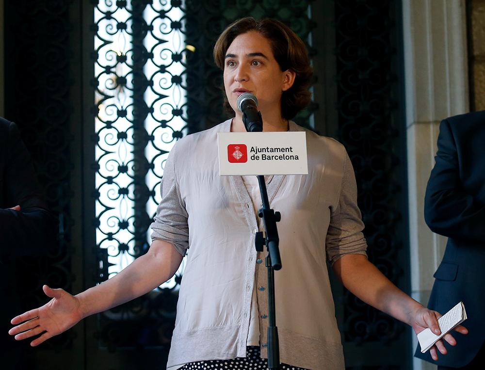 Ada Colau, alcaldesa de Barcelona - Cataluña