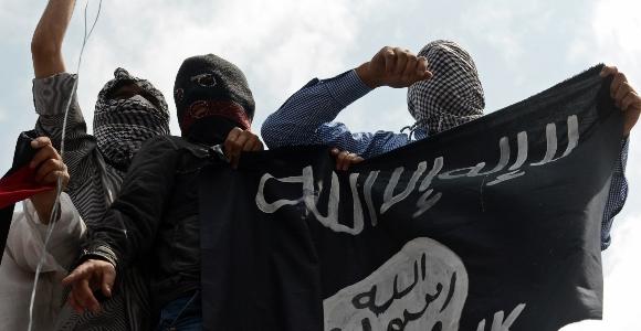 Miembros del Estado Islámico. Reuters