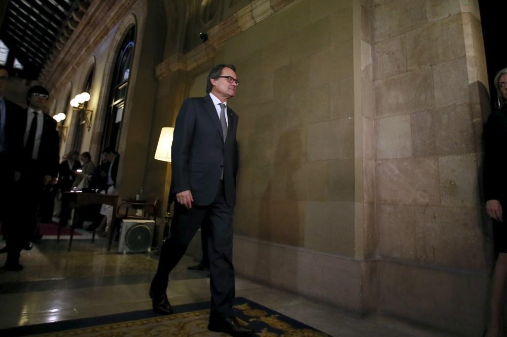 Artur Mas. Reuters