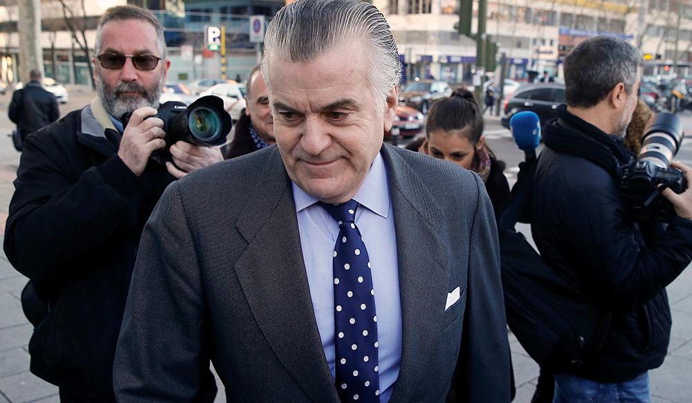 El extesorero del PP Luis Barcenas