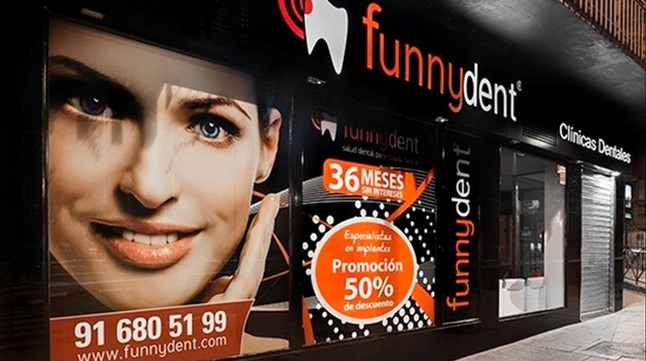 Clinicas dentales cerradas  en Madrid Funnydent