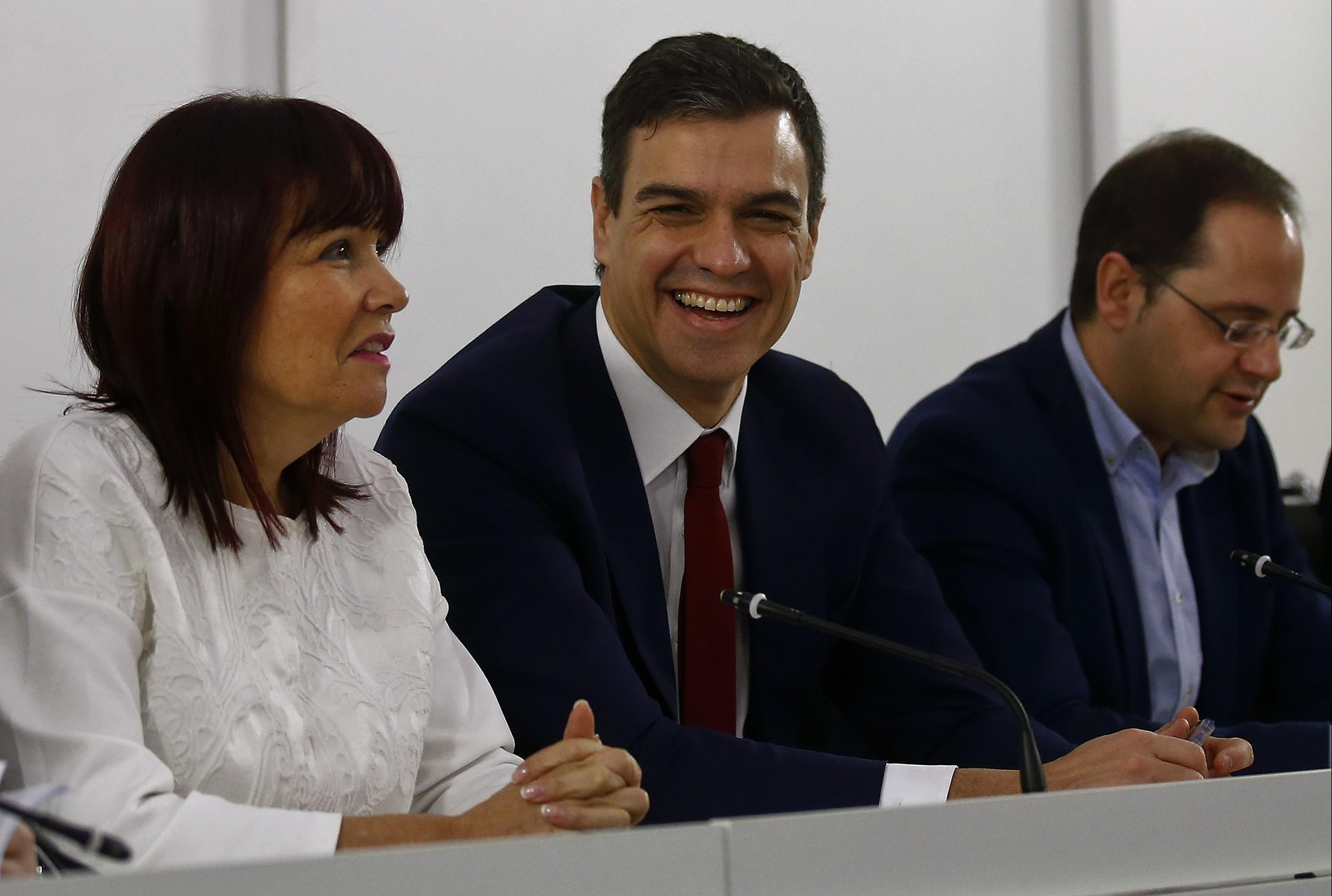El líder del PSOE, Pedro Sánchez. FOTO: Reuters