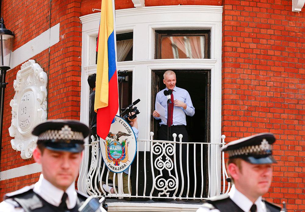 Julian Assange es ecuatoriano