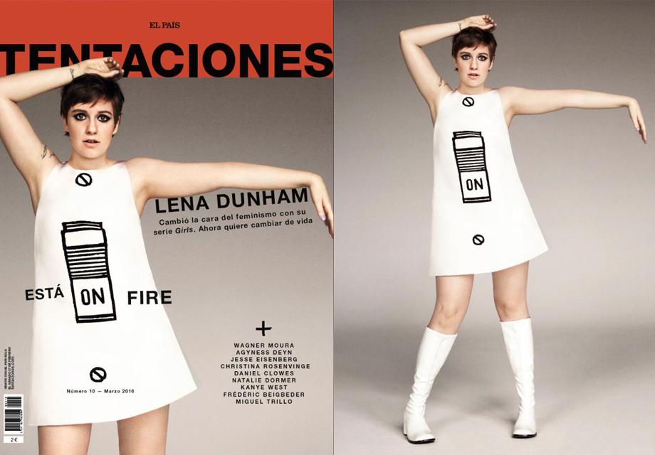 Foto de 'Tentaciones' y la original.