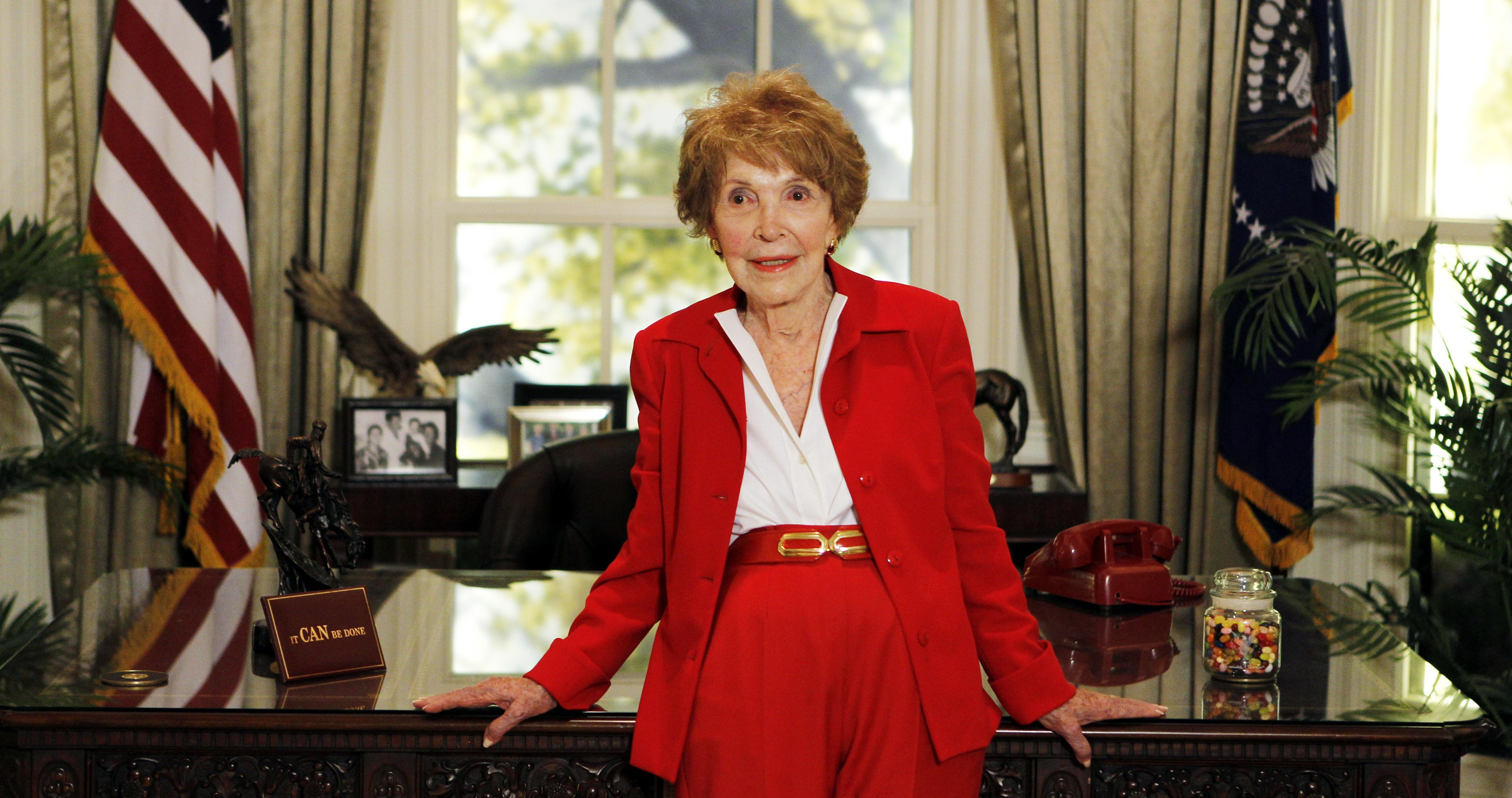 Nancy Reagan. Reuters