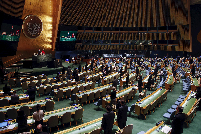 Asamblea General de Naciones Unidas ONU. FOTO: Reuters
