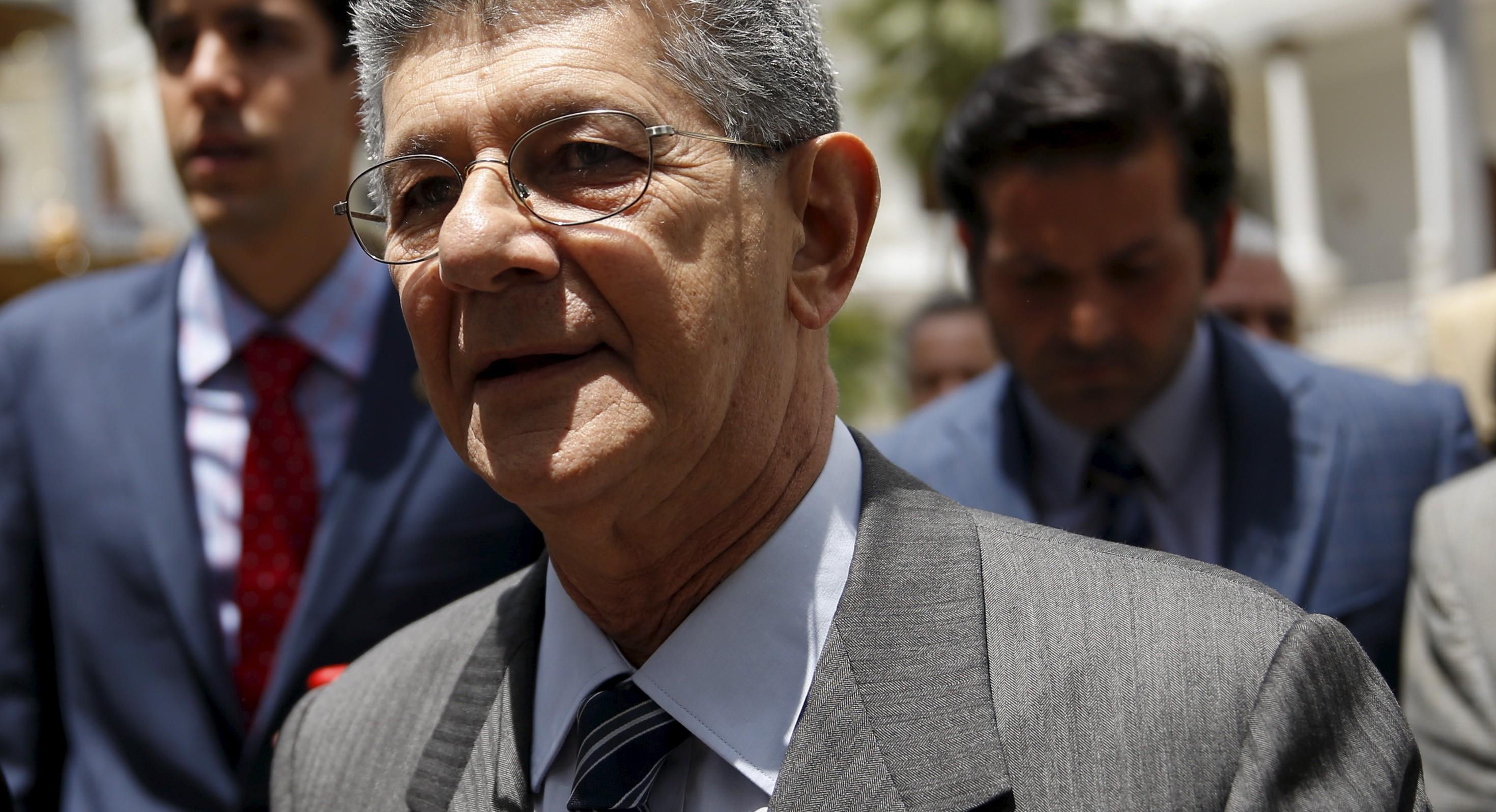 El presidente de la AN, Henry Ramos Allup. Reuters