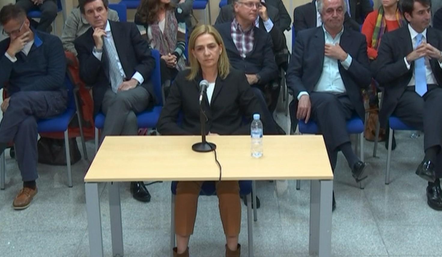 Cristina de Borbón FOTO: Reuters