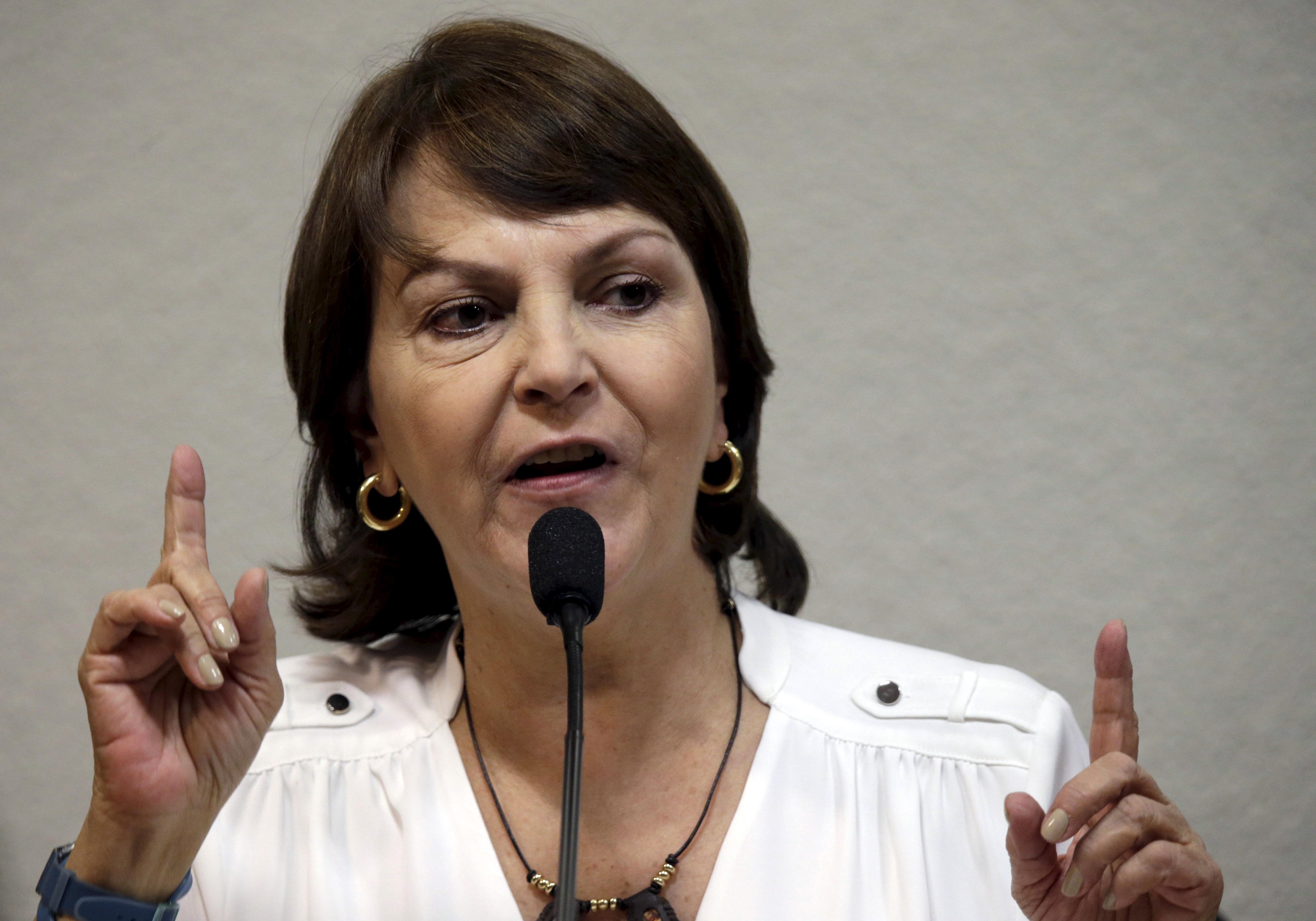 Mitzy Capriles, esposa del alcalde de Caracas, Antonio Ledezma. FOTO; Reuters