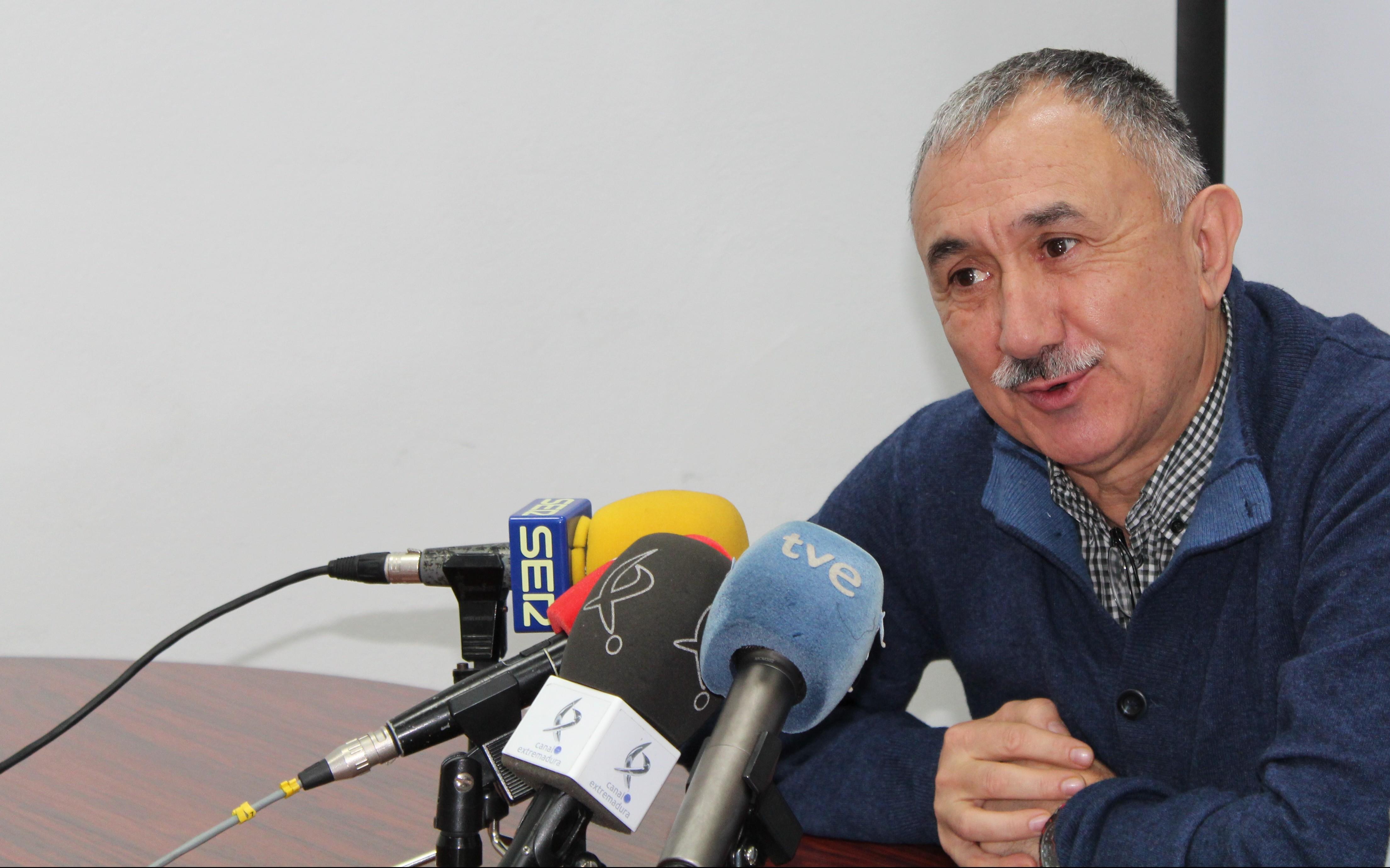 Josep María Álvarez, secretario general de UGT. FOTO: UGT