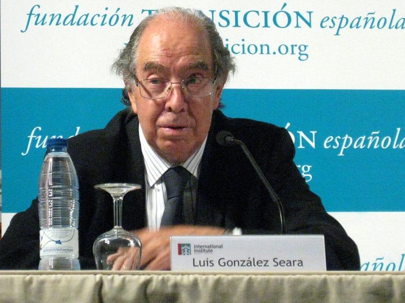 Luis González Seara. Foto: Fundación Transición Española
