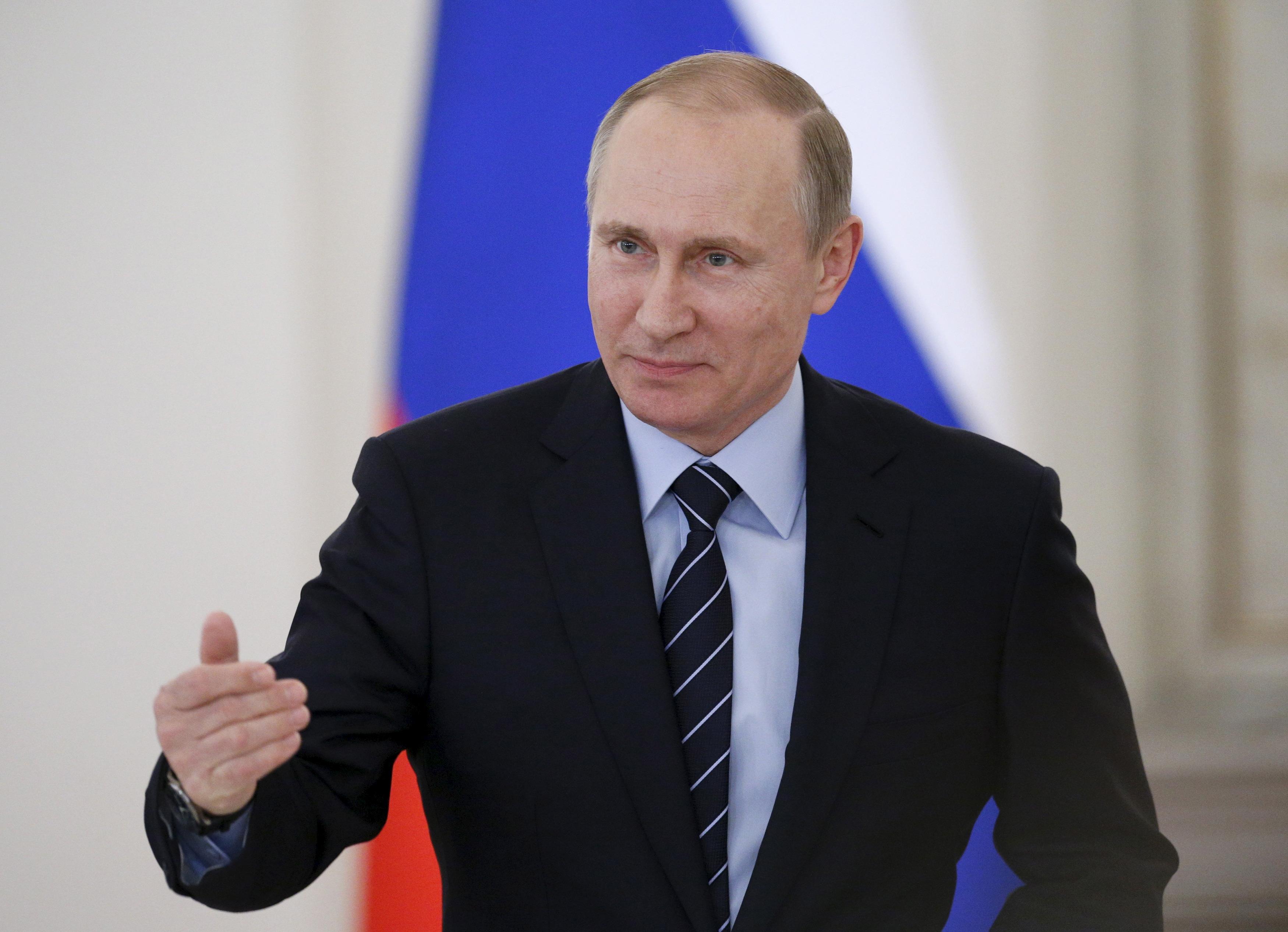 Vladimír Putin. Reuters