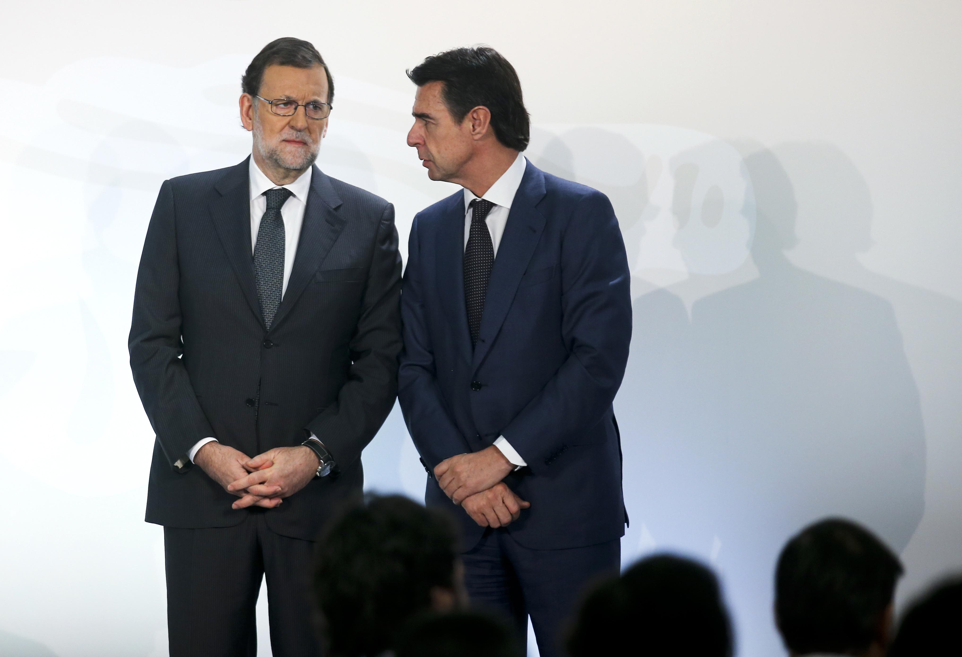 José Manuel Soria y Mariano Rajoy